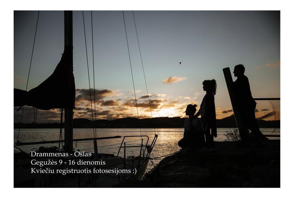 Fotosesijos Dramene, Norvegija