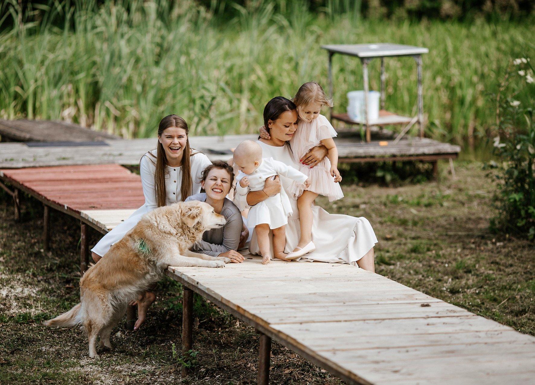 Jūratė Čiakienė - Krikštynų fotosesijos
