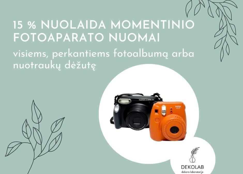 Momentinis fotoaparatas